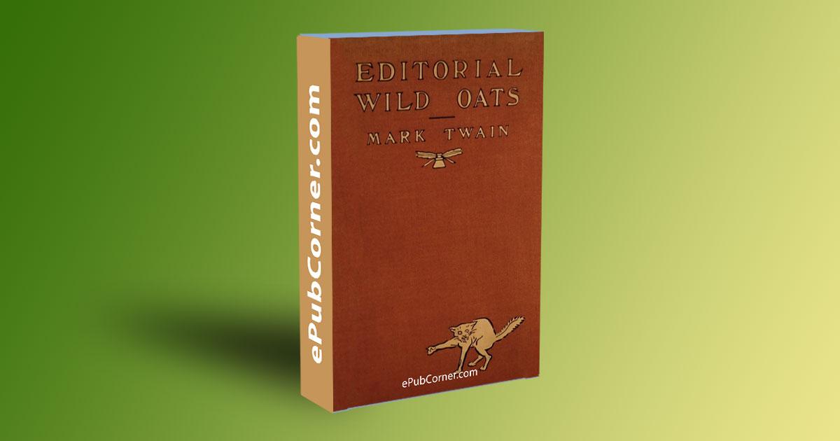 Editorial Wild Oats ePub download free